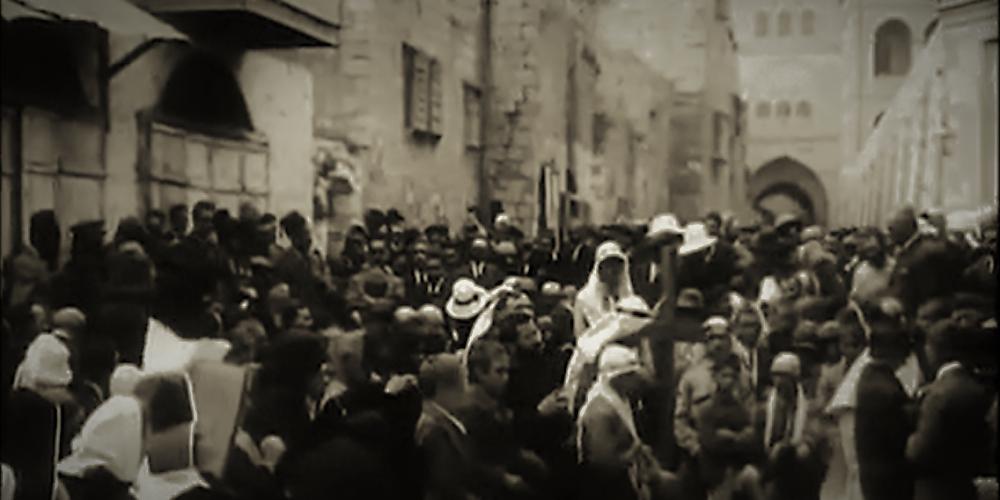 Jerusalem in year 1925