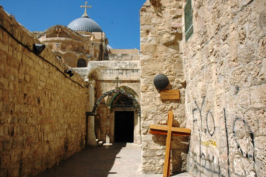Station 9 at the Via Dolorosa