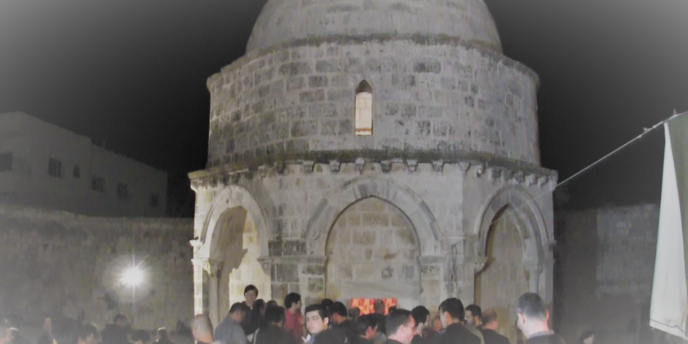 The Ascension of Jesus at Mount of Olives