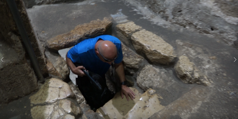 The Tomb of Lazarus at Mount of Olives