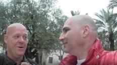 Jorgen Nilsson walked from Sweden to Jerusalem