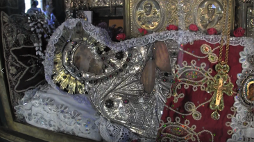 The holy Icon of Mary at Metoxicon near the church of the holy sepulchre