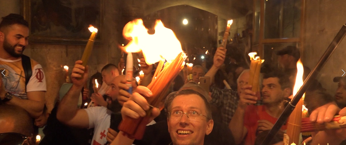 Holy Fire ceremony