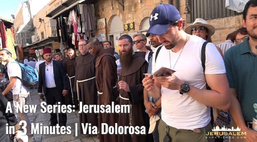Via Dolorosa - Jerusalem in 3 minutes