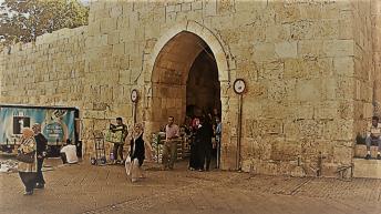 Jerusalem Herod (Flowers) Gate