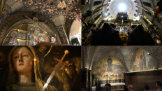 The last 5 station of the Via Dolorosa