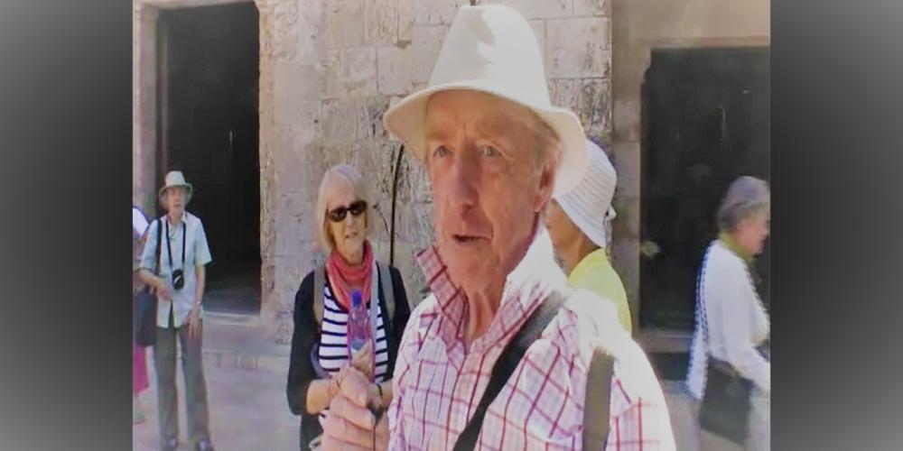 Pilgrim Testimonial at the CHurch of St. Anne in Jerusalem