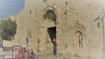 Jerusalem Zion Gate