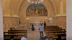 The Church of Bethpage at Mount of Olives