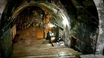 The tomb of Mary at Mount of Olives