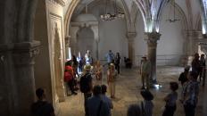 The last supper room at Mount Zion Jerusalem